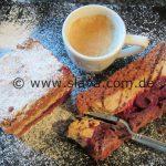 Cappuccino - Kirsch - Schnitten