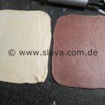 SOFTE ZWEIFARBIGE DOUBLE-SCHOKORÖLLCHEN