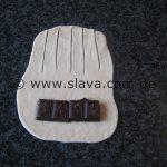 CHOCOLADE ROLLS Gerollte Schokoladenbrötchen-Hörnchen
