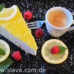 Slavas Fruchtig frische Zitronentorte mit Fruchtspiegel