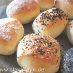 Super softe  Mini-Schafskäse-Fetabrötchen