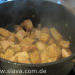 Schweineragout mit Apfelwein – Cidre