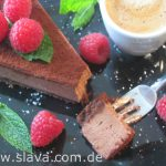 No Bake Chocolate - Mousse - Cheesecake mit Schokoladenkeks Boden