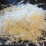 Slavas serbischer  - deftig gewürzter Krautsalat mit Speck - Zum sofort Verzehr