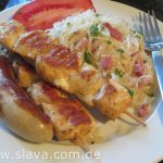 Slavas serbischer  – deftig gewürzter Krautsalat mit Speck – Zum sofort Verzehr