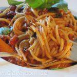 Leichte - Spaghetti Bolognese