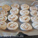 Slavas  super softe und leichte Apfel-Zimt-Schnecken
