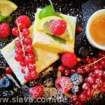 Fruchtige Ricotta-Lemon-Schnitten
