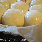 Slavas gefüllte Genießer-Buchteln für 5 - 6SP