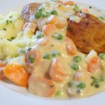 Geflügel-Pfanne mit buntem Gemüse und Schlemmer-Sauce