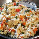 Schnelle leckere Serbische Reispfanne