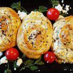 Pikante Käse-Schnecken